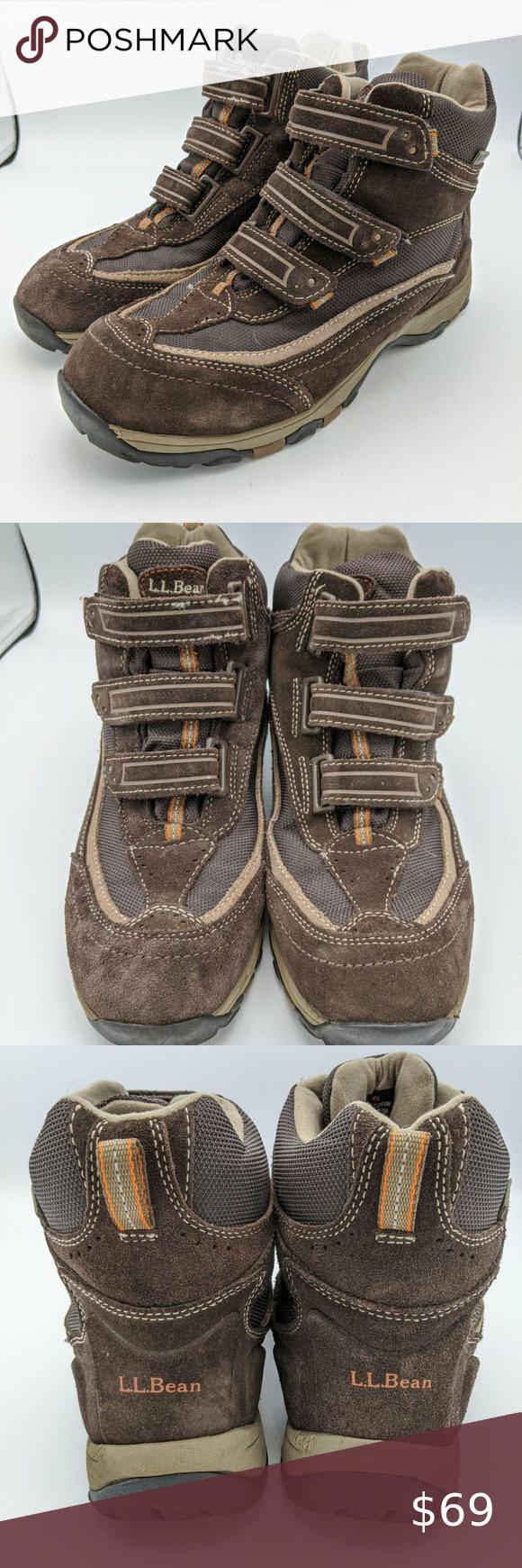 LL Bean Boots TEK 2.5 Straps Brown
