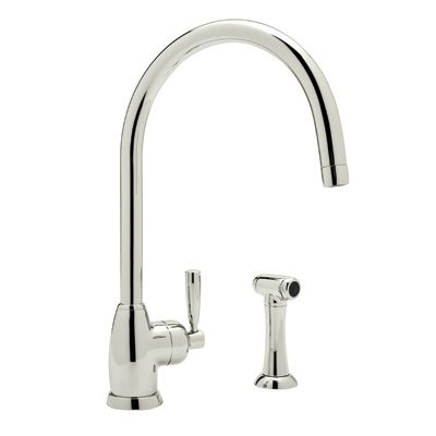 Rohl Kitchen  This One Is A Little Less Modern But Still Sleek Interesting Rohl Kitchen Faucet Decorating Design