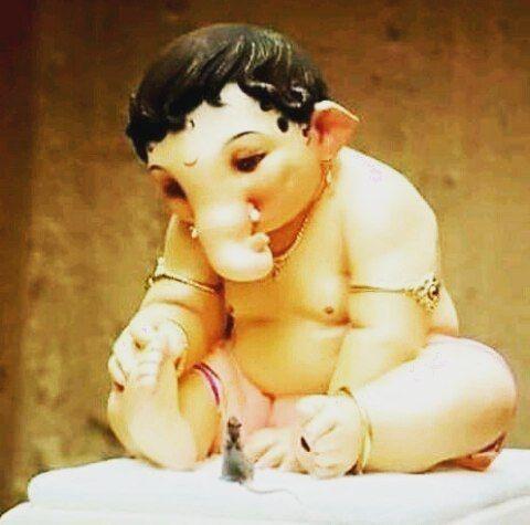 Instagram Photo By Prasad Mar 28 2016 At 9 54am Utc Baby Ganesha Lord Shiva Painting Ganesh