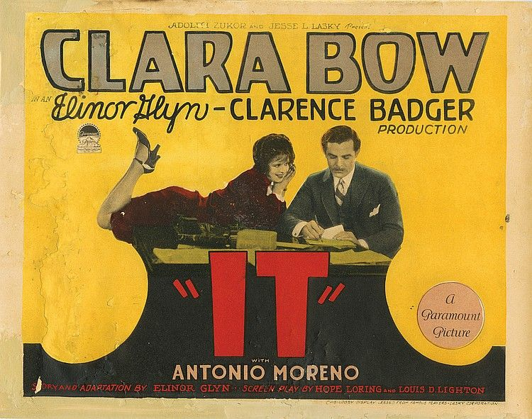 Image result for clara bow it lobby card