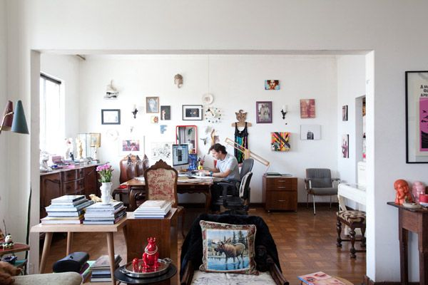 Eclectic Apartment In The Spirit Of Sao Paolo Interior Eclectic