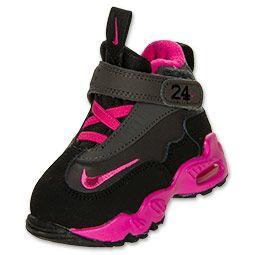 promo code aa72a c56b6 Girls  Toddler Nike Air Griffey Max 1 Training Shoes   FinishLine.com    Night Stadium Fusion Pink Black