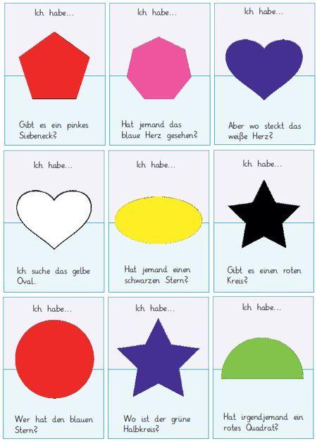 Pin auf Gefühle, Formen und Farben