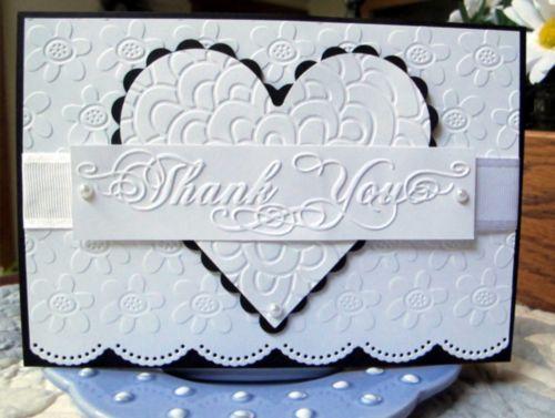 Phrases borders by darice embossing folders words thank
