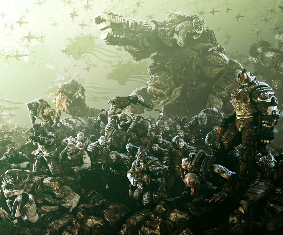 Gears Of War 3 Hd Wallpapers For Android Gears Of War 3 Gears Of War 2 Gears Of War