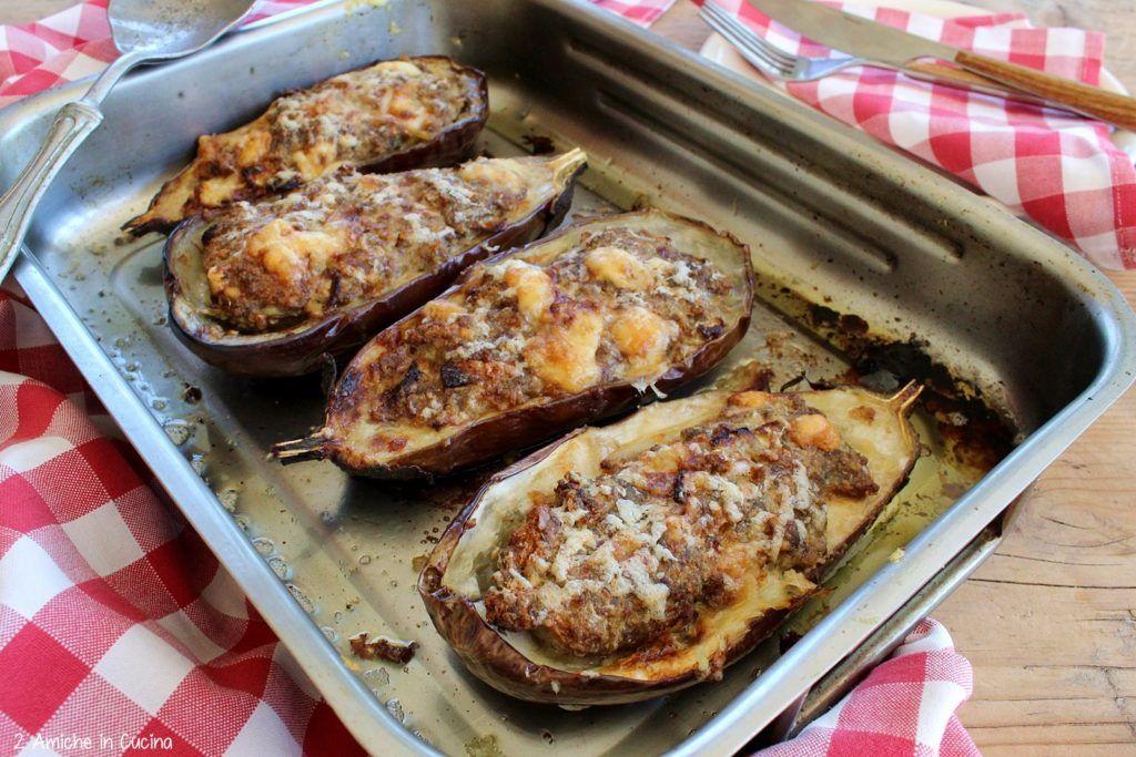 Photo of melanzane ripiene di carne e formaggio, cotte in forno