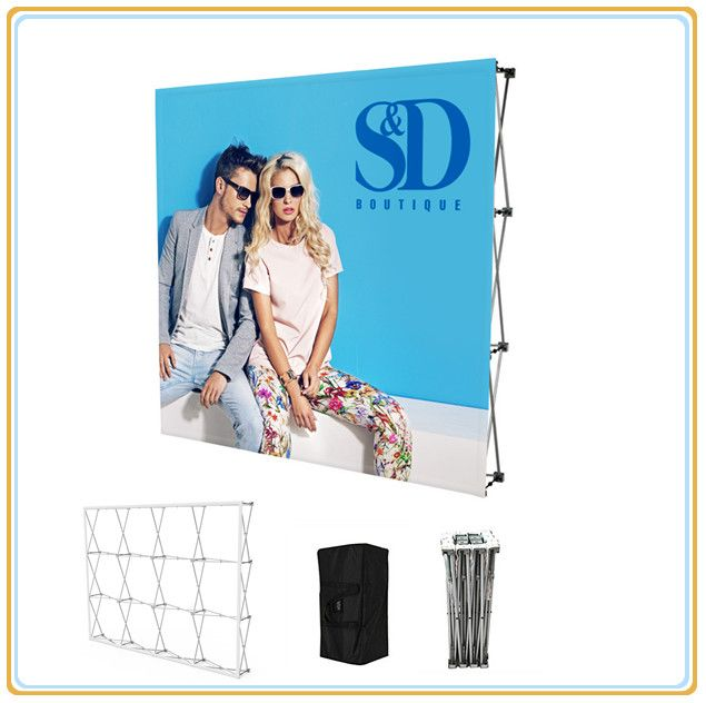Advertising Graphic Pop up Display Stand for Exhibition