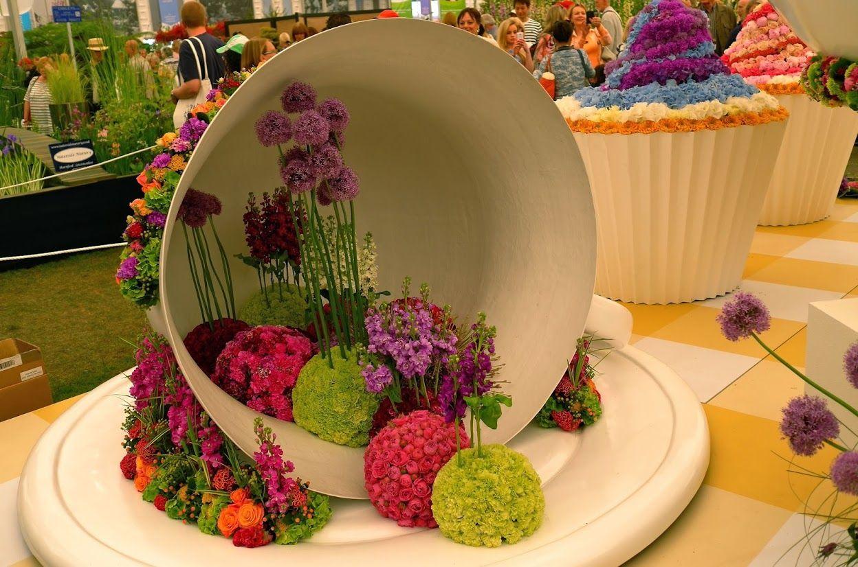 Выставка цветов картинка