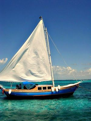 Sail away~WOW! I would LOVE to rent a sailboat for a day on the ocean...