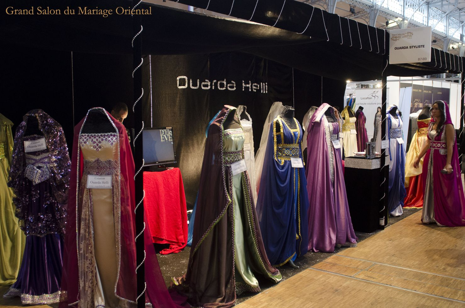 Ouarda helli cr atrice de robe berb re kabyle mandap d coration indienne indian wedding - Salon du mariage oriental ...