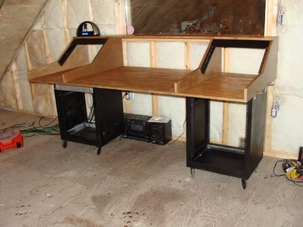 diy control desk recording spaces in 2019 recording. Black Bedroom Furniture Sets. Home Design Ideas