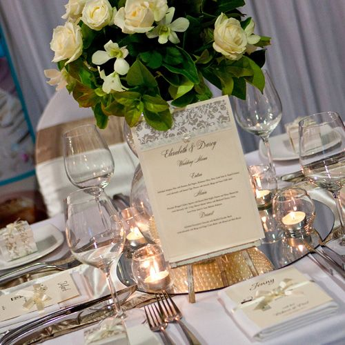 Centerpieces With Mirrors