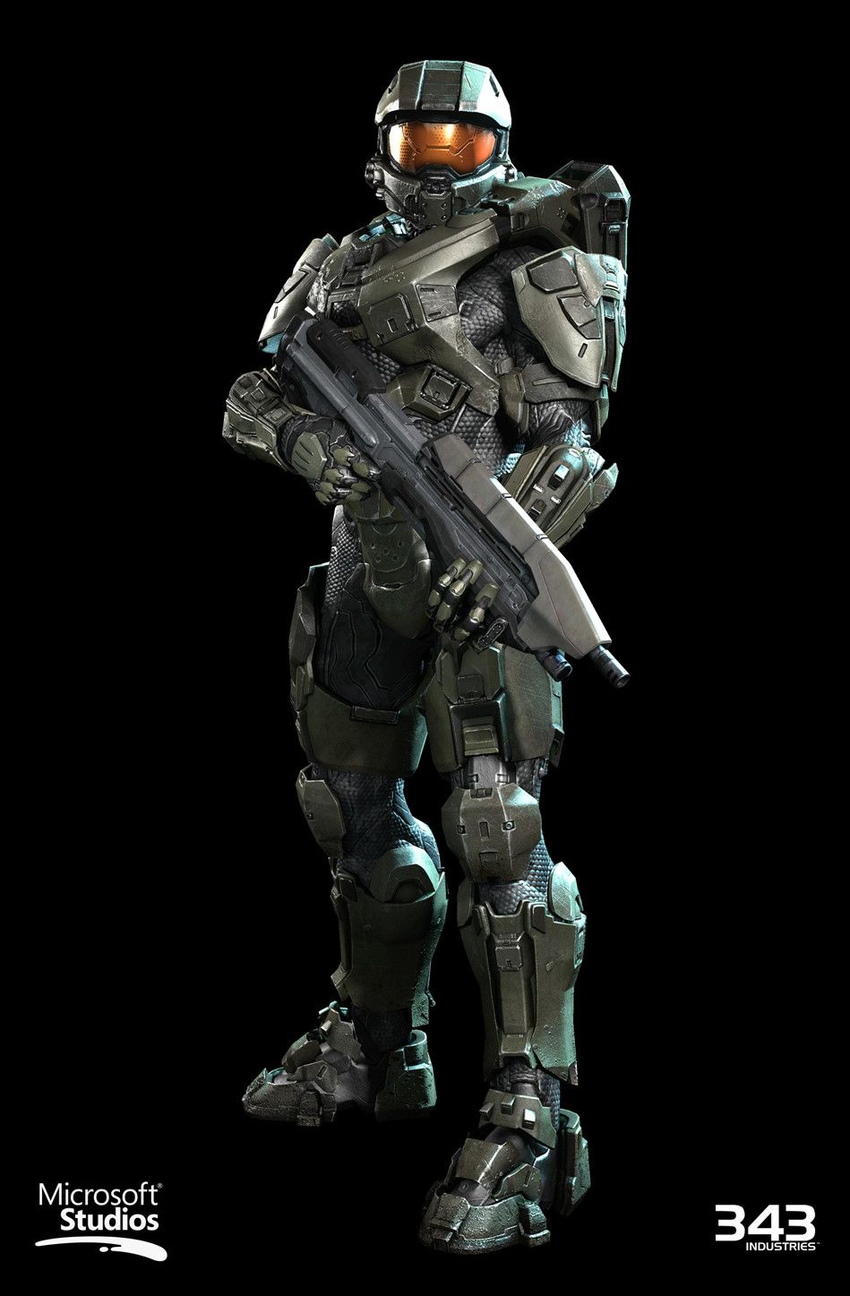 Artstation Halo 4 Master Chief Textures Materials Kyle