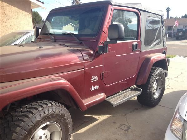 Used 2003 Jeep Wrangler For Sale 8 500 At Spring Valley Ca