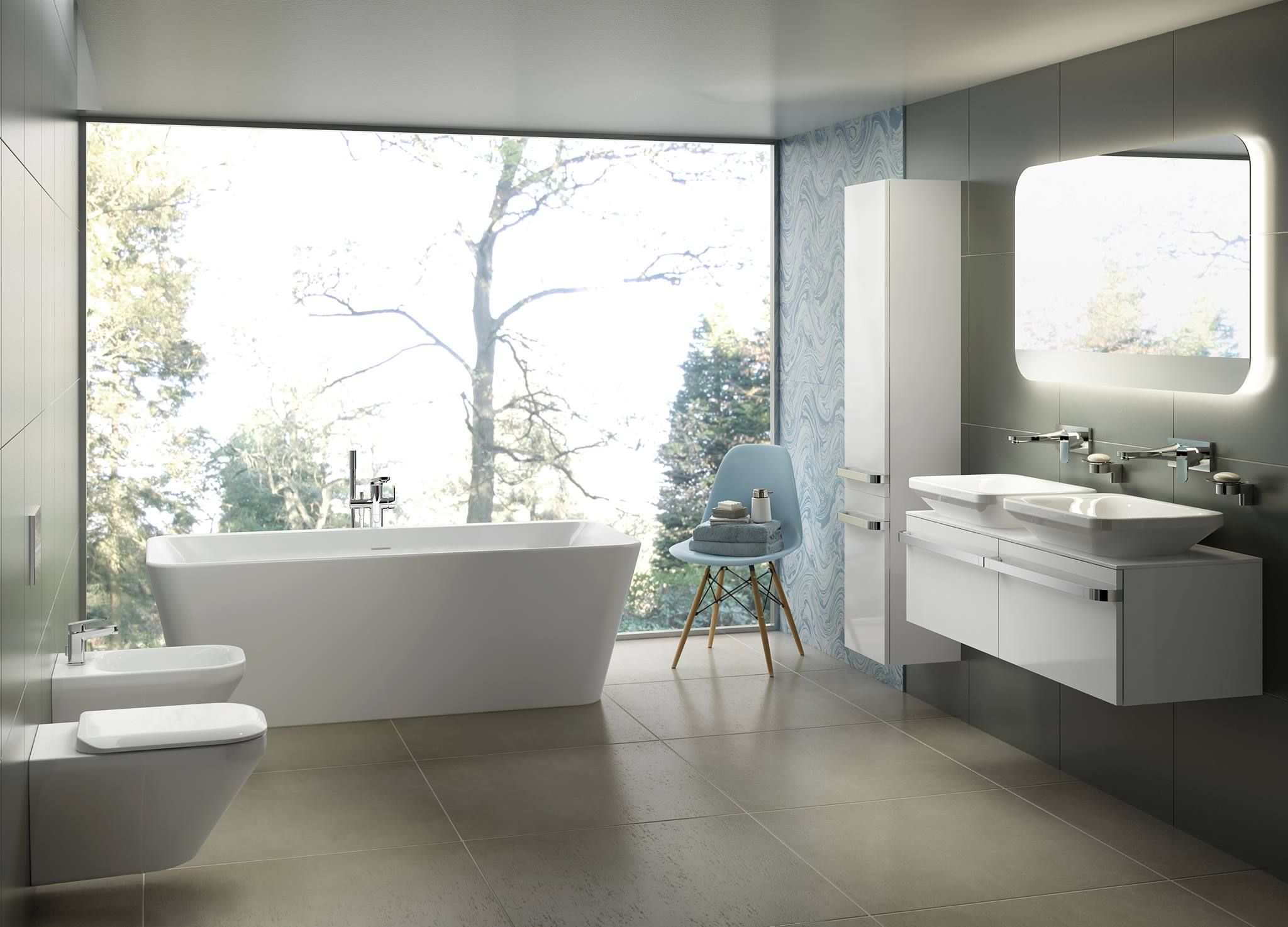 Immerse yourself in luxury with an @idealstandarduk #bathroom ...