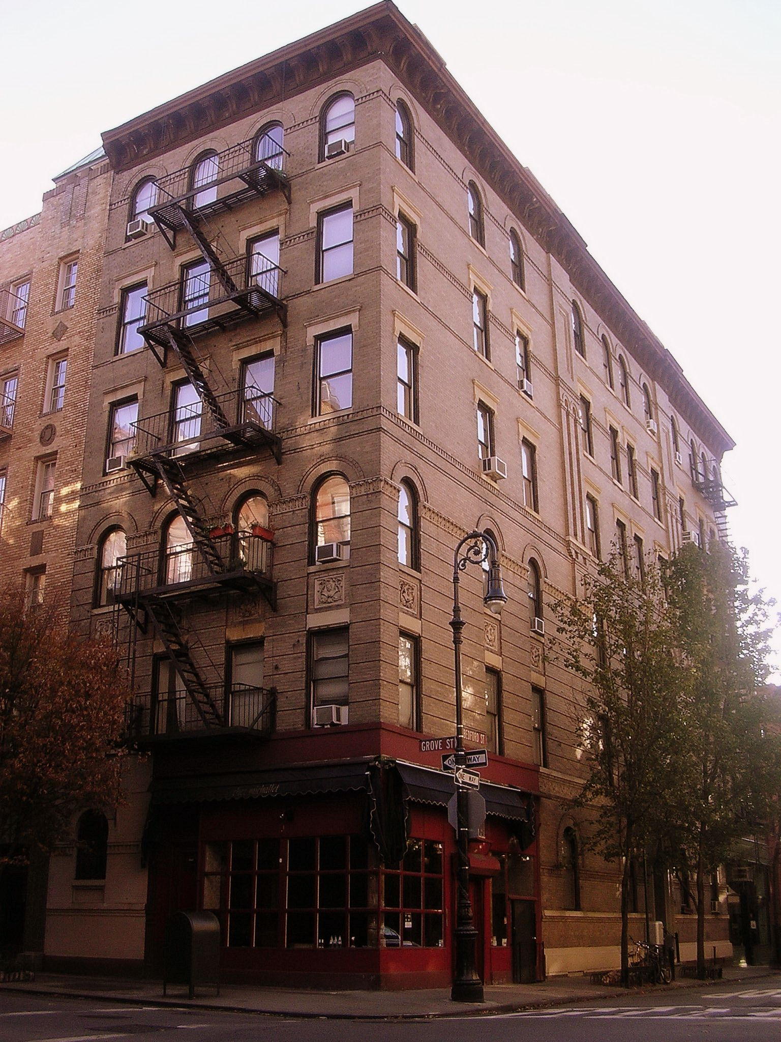 The Actual Friends Apartment Building