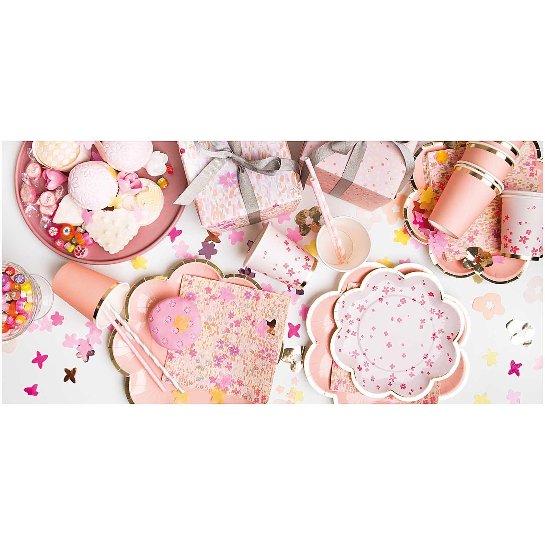 Konfetti Blüten rosa mix