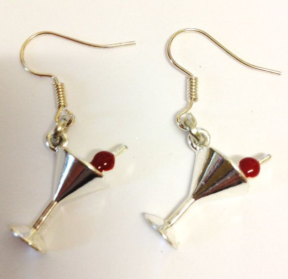 Glam & Glitz  cocktail earrings by LovelyRuthies on Etsy, £4.00