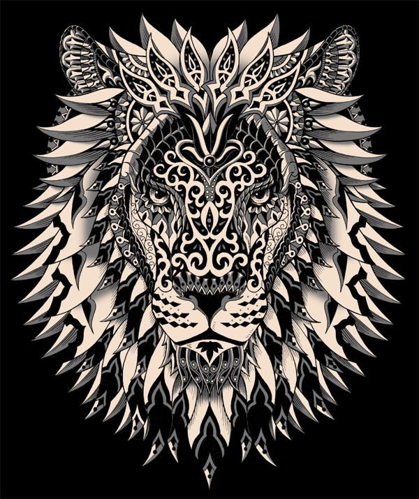 Realistic Lion Adult Coloring Pages Free | Lion coloring pages ... | 715x600