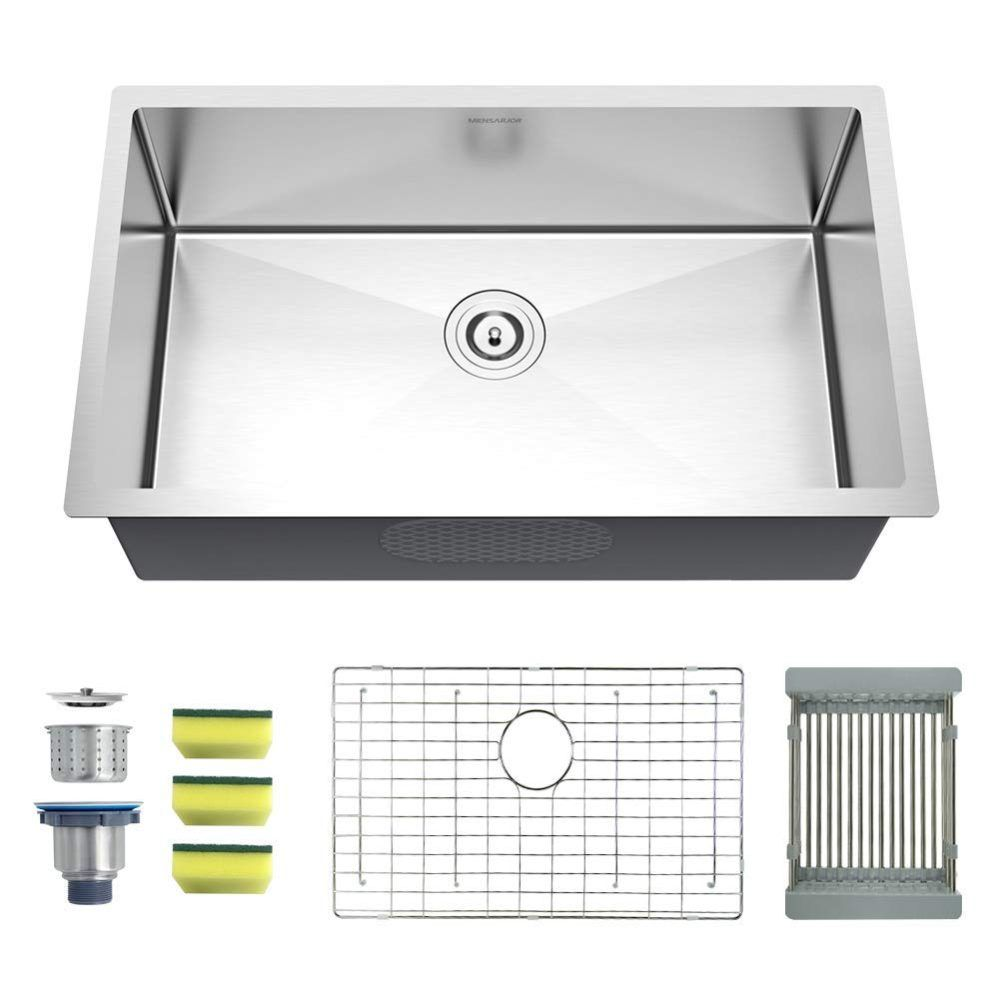 9 Best Stainless Steel Kitchen Sinks Plus 1 To Avoid 2020 Buyers Guide Stainless Steel Kitchen Sink Stainless Steel Farmhouse Kitchen Sinks Kitchen Sink