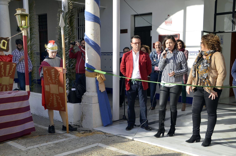 Inauguración del belén viviente del Colegio de San José. 11 de diciembre de 2015.