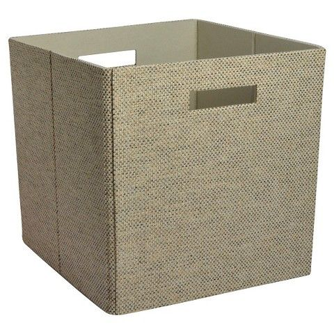 12 13x13x13 Threshold Decorative Fabric Cube Storage