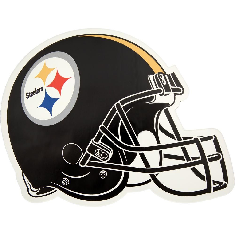 Applied Icon Nfl Pittsburgh Steelers Outdoor Helmet Graphic Large