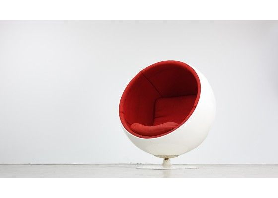 ball chair by eero saarinen for asko first edition 6 chairs