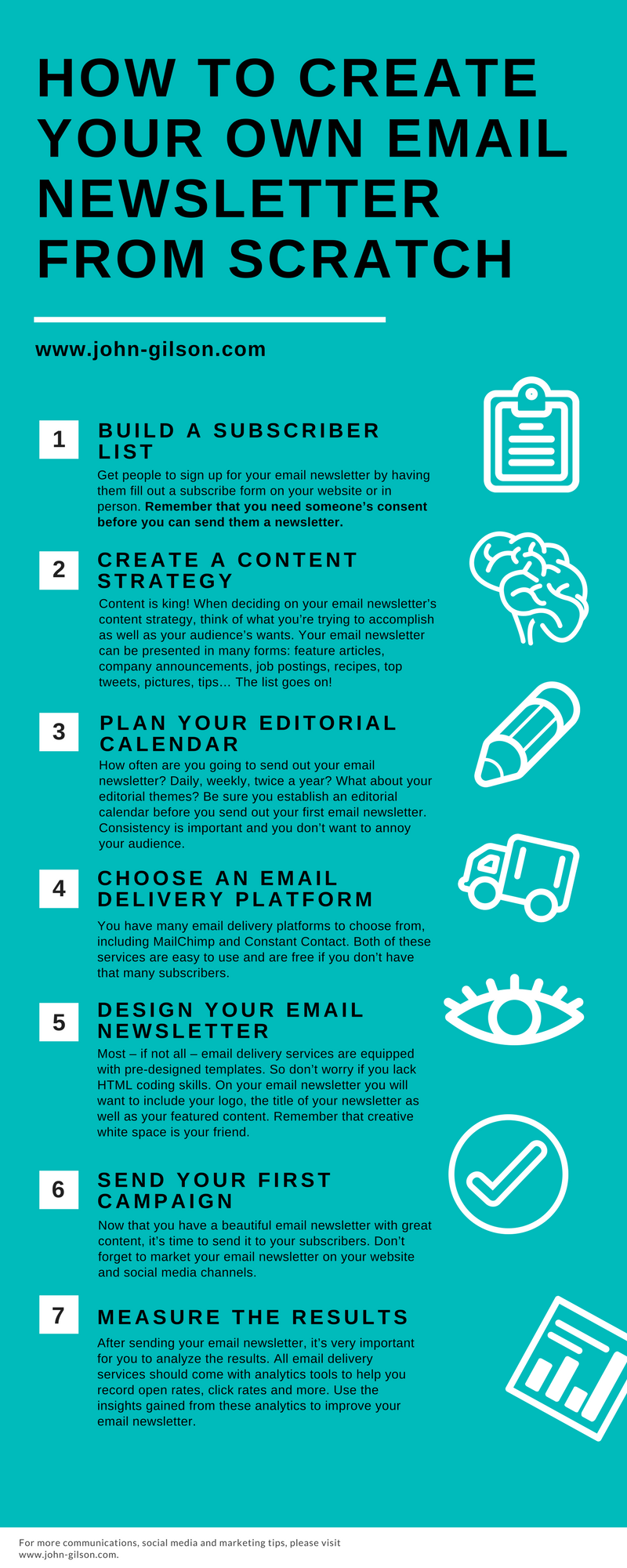 How To Create Your Own Email Newsletter From Scratch  Vision