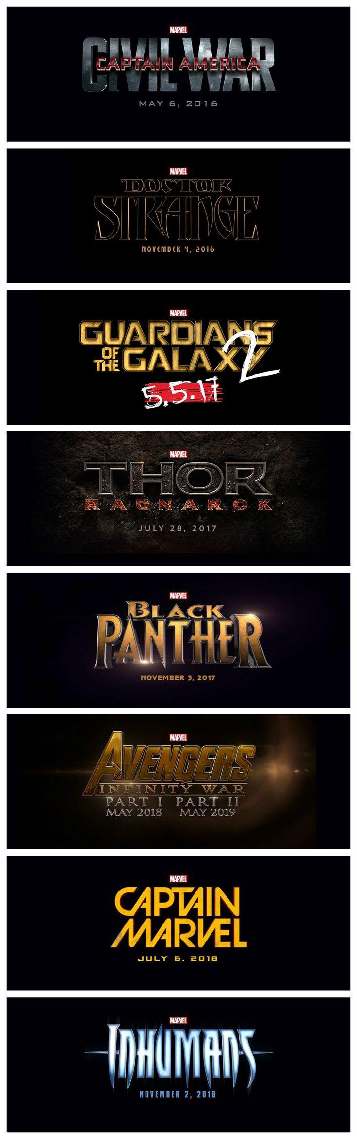 marvel film liste 2018