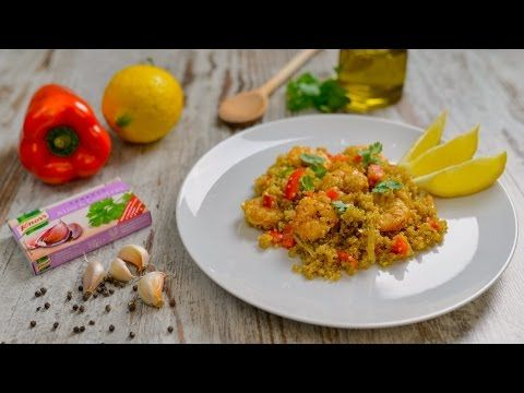 Quinoa com Camarão - Receitas Rápidas - Knorr - YouTube