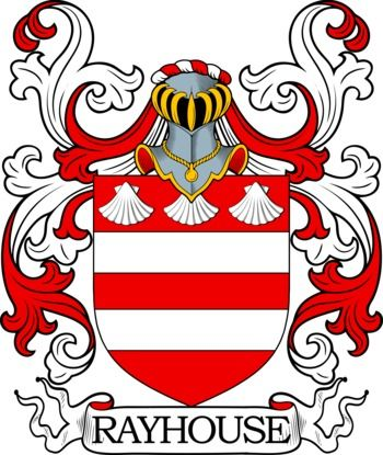 Rayhouse Family Crest and Coat of Arms