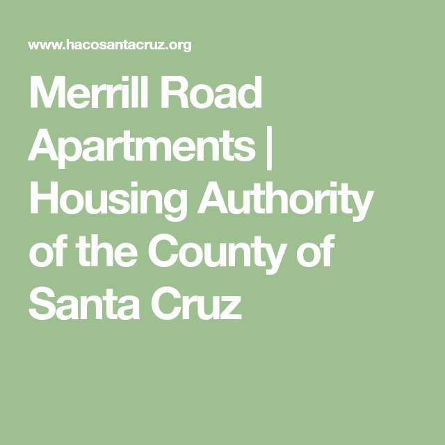 Housing Authority Of The County