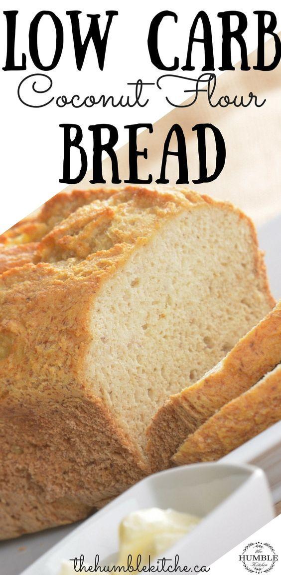 Coconut Flour Bread Recipe Low Carb Coconut Flour Bread Recipes Coconut Flour Bread Coconut Flour Recipes