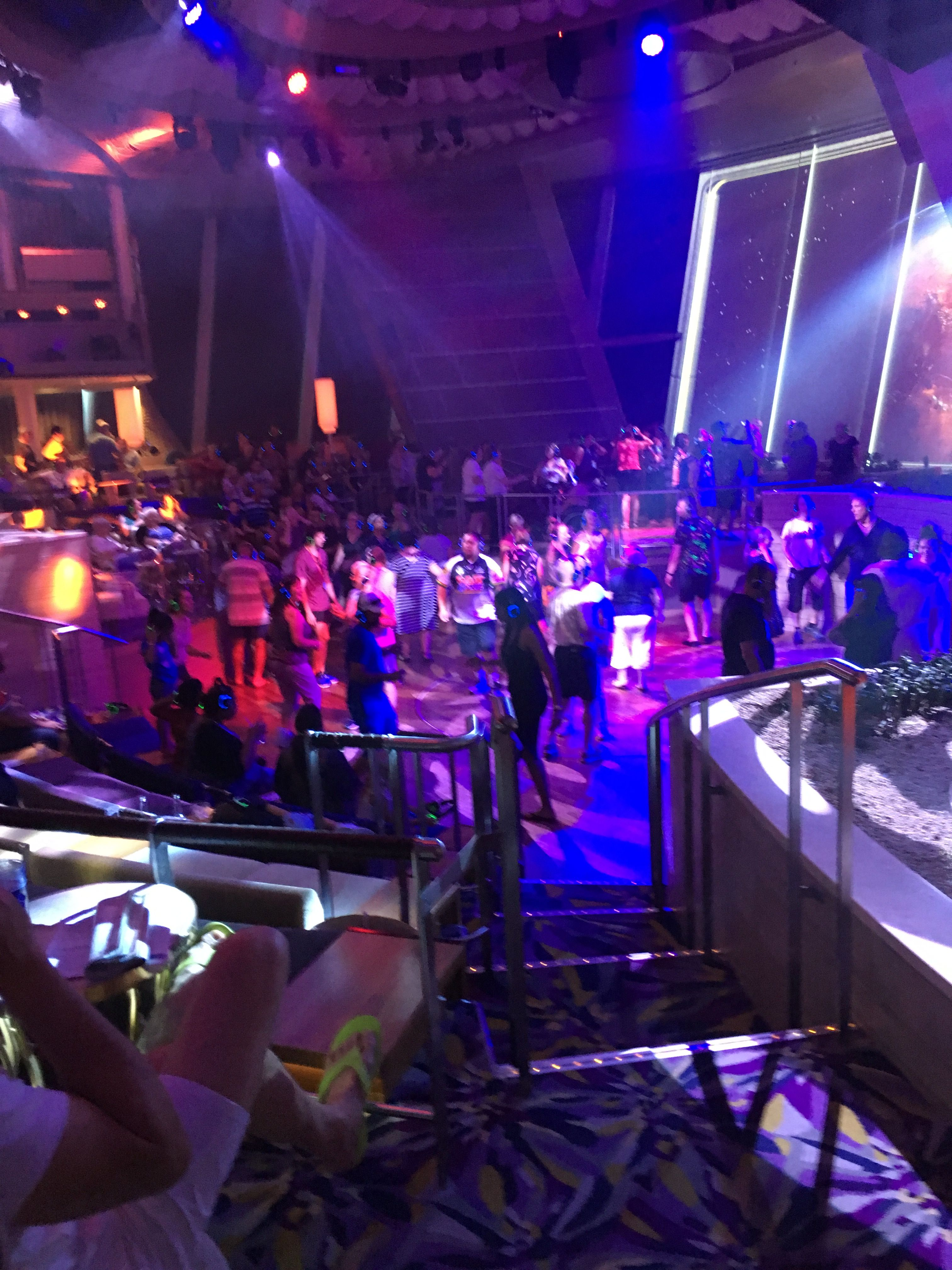 Silent disco. Two70. Ovation of the seas (With images