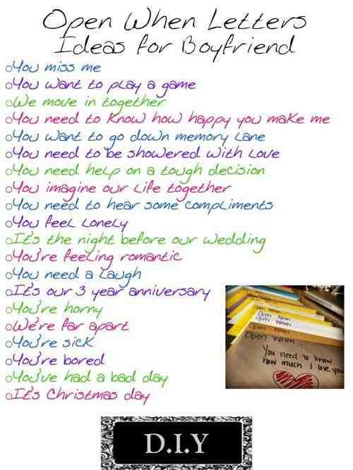 Open when Relationships Pinterest Gift Christmas gifts and