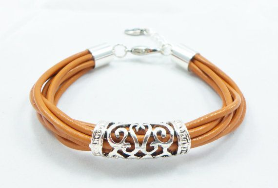 Photo of Leather Jewelry Leather Jewelry Help attract attention wherever you go …