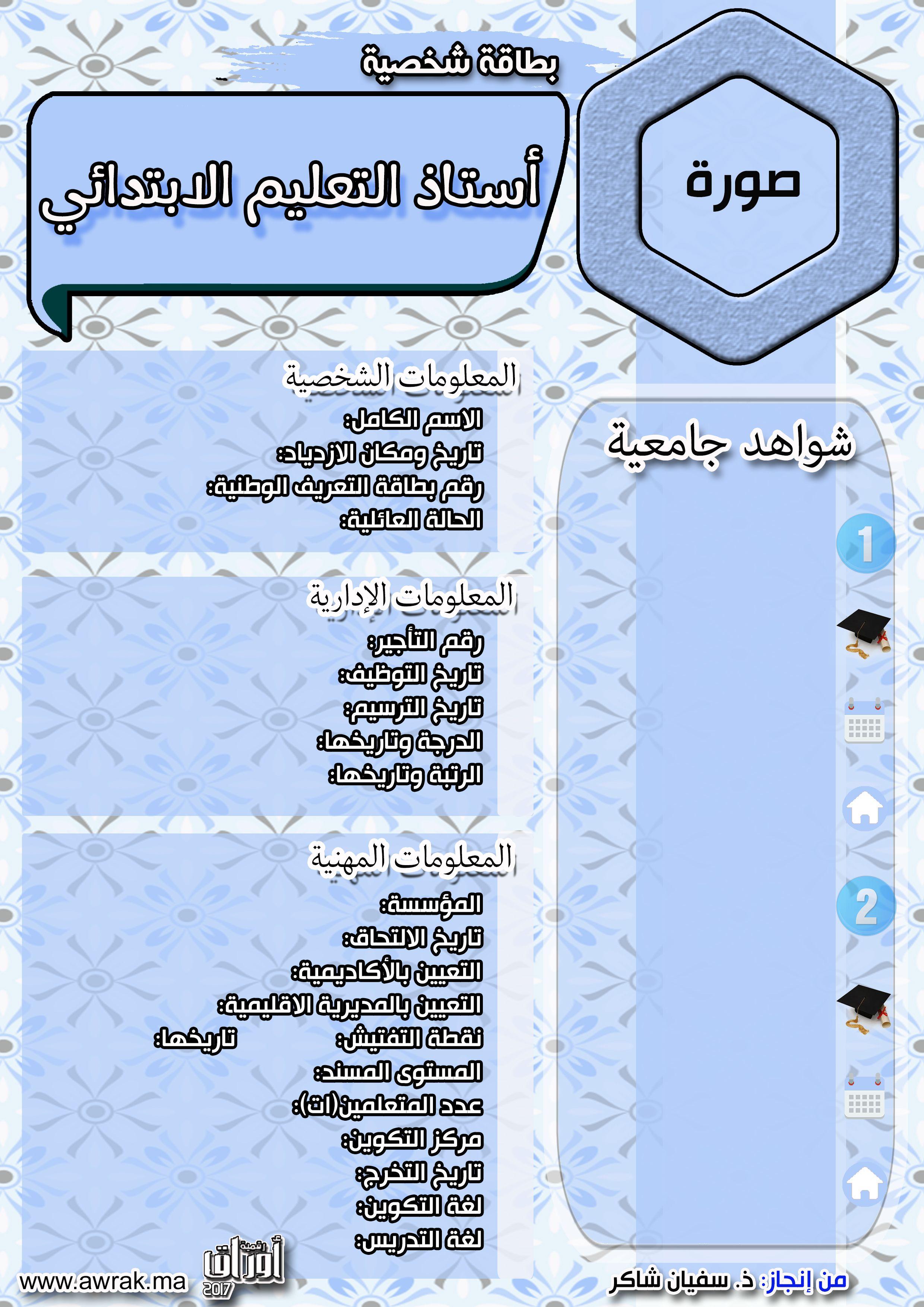 بطاقة شخصية 1 Map Map Screenshot