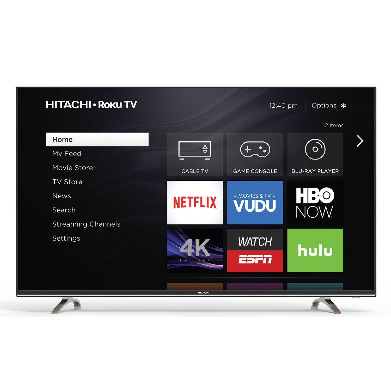 Hitachi 55r7 4k ultra hd roku smart led tv review