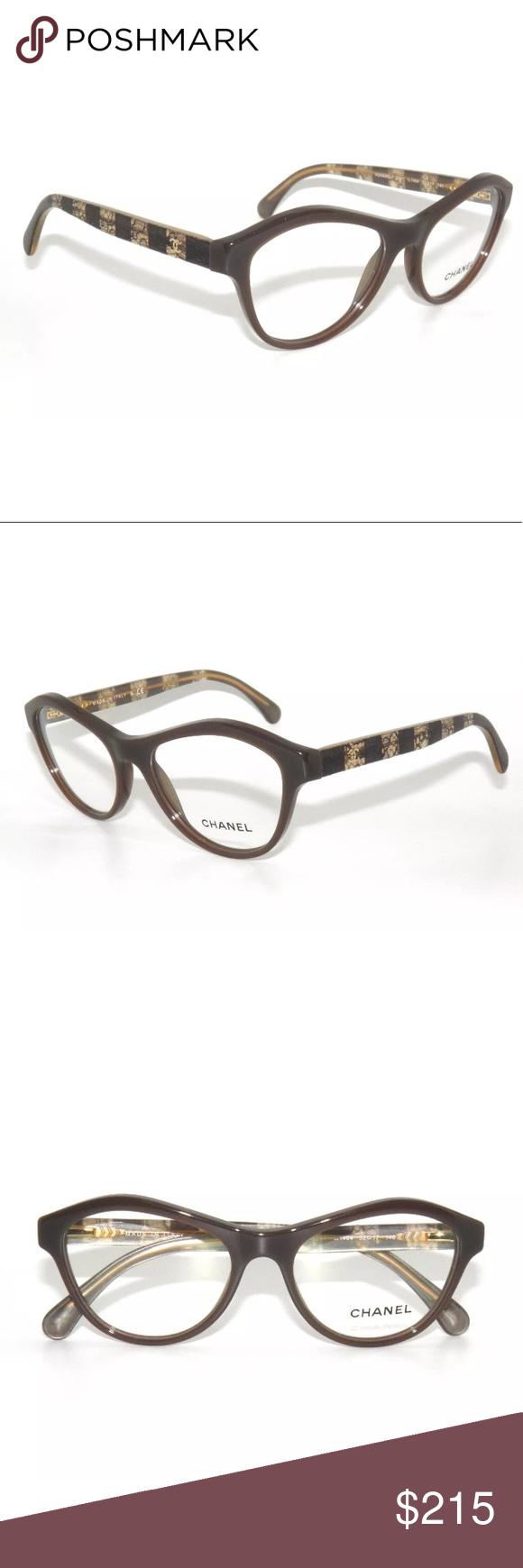 98ef83ca147 Chanel Glasses 3291 Brown Frame