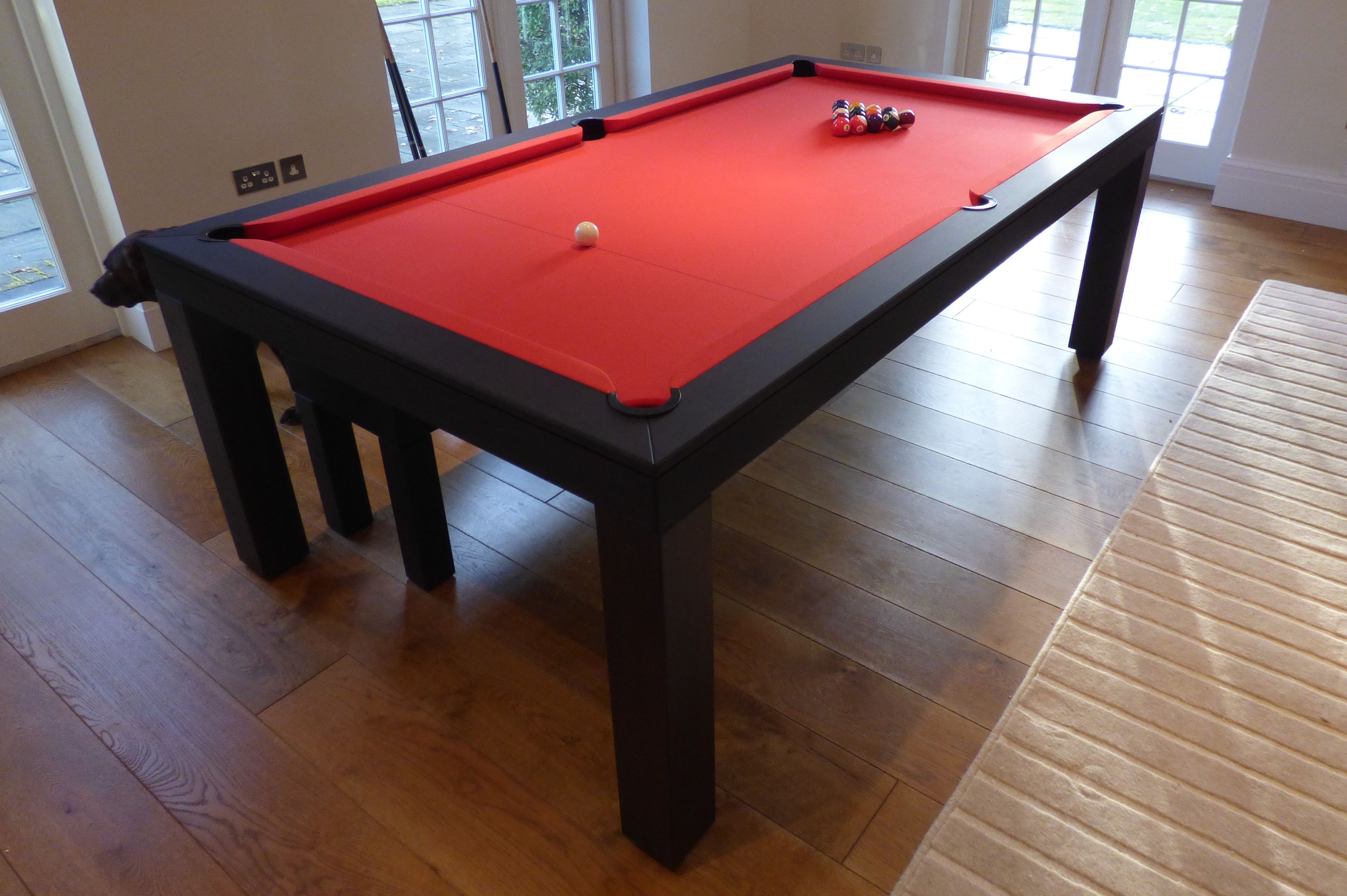 Contemporary Pool Table Pool Table Dining Table Pool Table