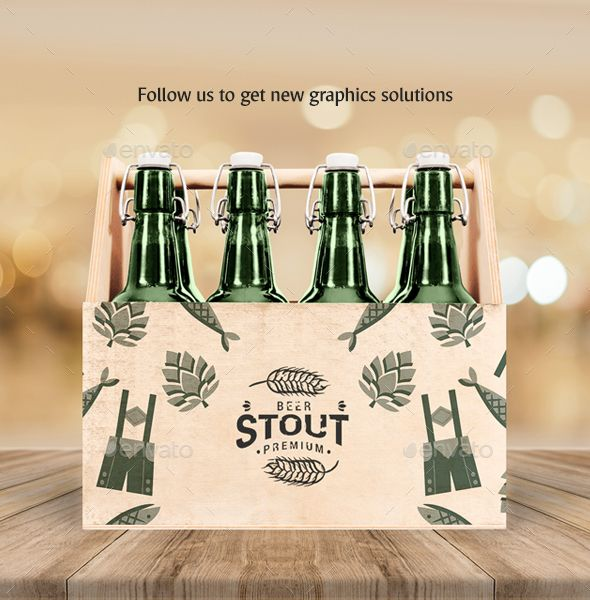 Download Craft Beer Box Mockup #Sponsored #Beer, #Craft, #Mockup, # ...