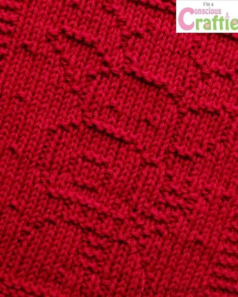 Knitted RudyFacecloth – any colour