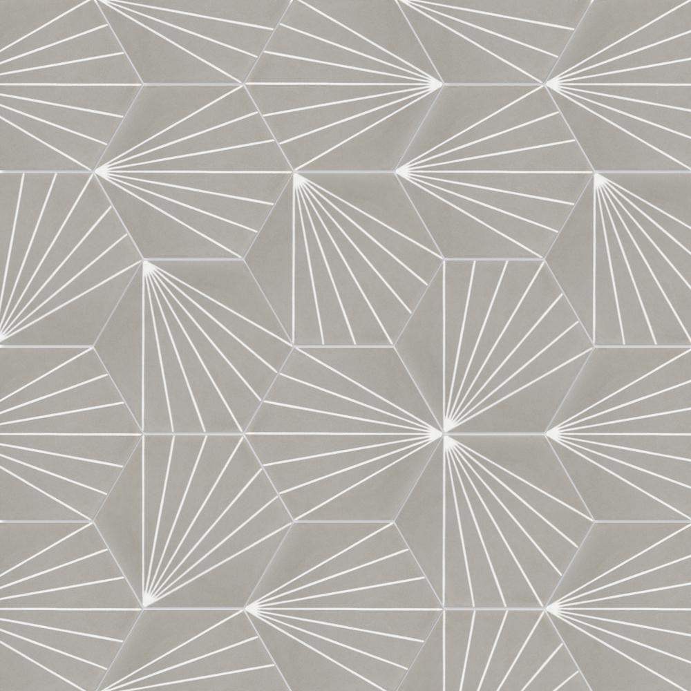 Villa Lagoon Tile Spark C Winter 8 In X 9 In Cement Handmade Floor And Wall Tile Sb20rh16 Spar3 S3 Ps The Villa Lagoon Tile Floor And Wall Tile Wall Tiles