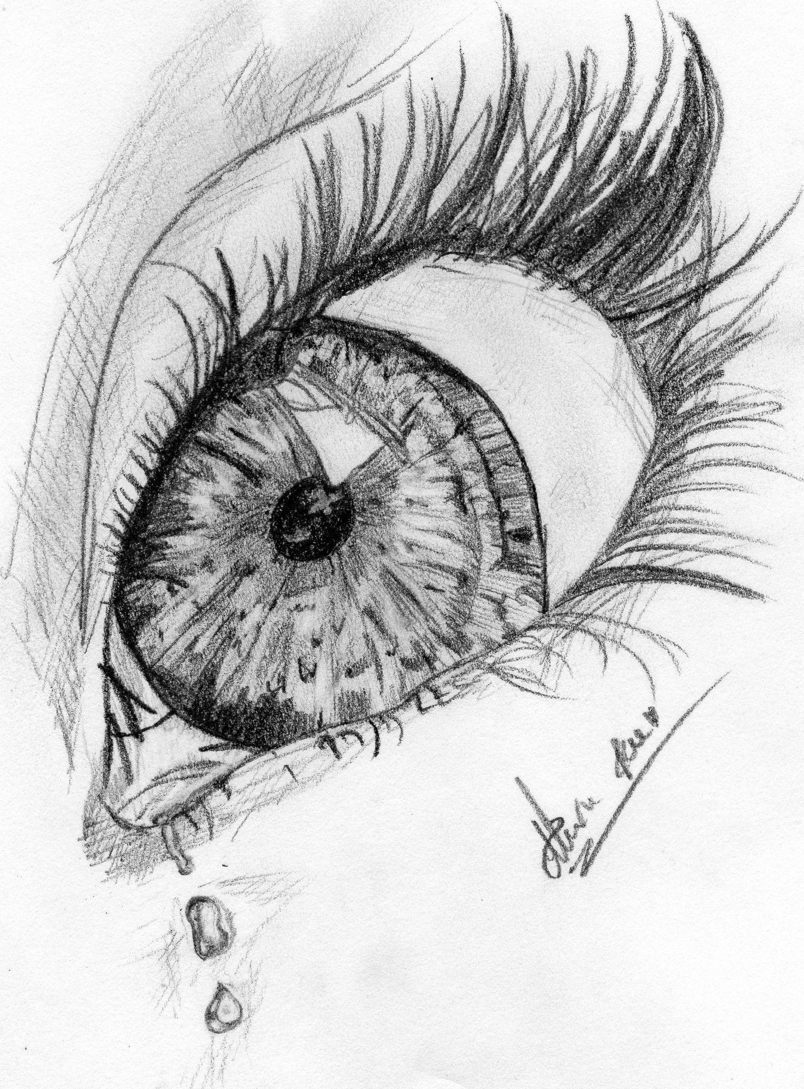 Sad eye by alexa gebhard
