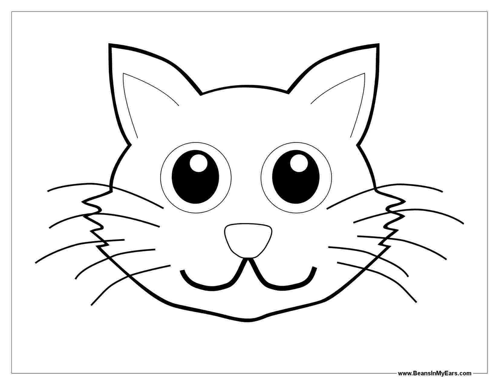 Best Printable Animal Faces Coloring Pages 777 Amazing