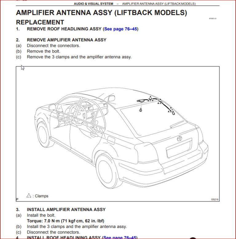 Toyota Avensis 2002 2007 Complete Service Repair Manual In 2020 Toyota Avensis Repair Manuals Toyota