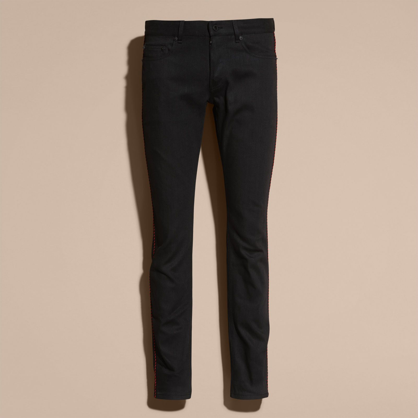 Slim Fit Regimental Jeans | Burberry