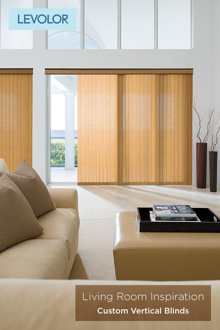 Home living room inspiration custom vertical blinds lounge