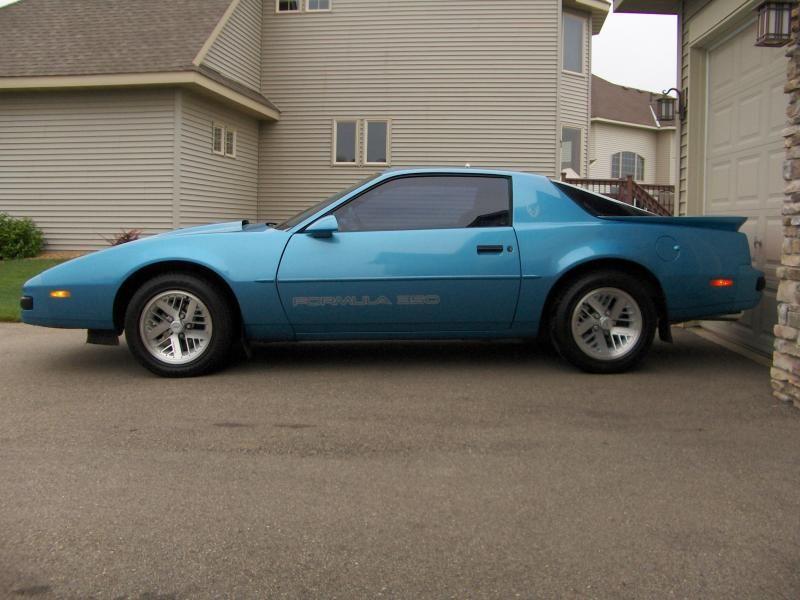 1989 Pontiac Firebird Formula 350 Pontiac Firebird Firebird Formula Firebird